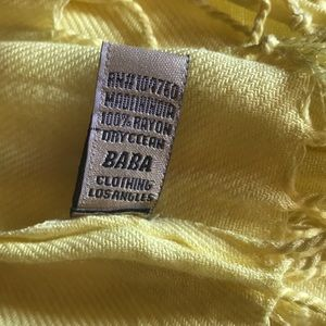 Baba Accessories - BABA Brand scarf